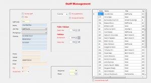 RosterManager2 screenshot 4, roster management